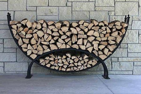 medium crescent rack - Firewood Racks